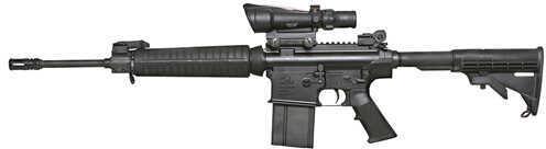 """ArmaLite, Inc ArmaLite AR-10 A4 308 Winchester/7.62 NATO 16"""" Barrel 10 Round Post Ban Carbine Black Fixed Stock Semi Automatic Rifle A10A4CBF2"""