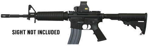 """ArmaLite 15A4 223 Remington /5.56 NATO 14.5"""" Barrel 30 Round 6-Position Black Semi Automatic Rifle LEC15A4CBK14"""