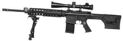 "ArmaLite, Inc ArmaLite A10 SuperSAss 308 Winchester 20"" Barrel 20 Round Black Semi Automatic Rifle A10SBF"