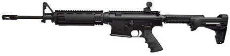 """ArmaLite, Inc ArmaLite AR-10 A4 308 Winchester 16"""" Barrel 10 Round Black Ergo Pro Stock Semi Automatic Rifle LE10A4CBA2F"""