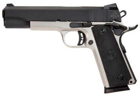 "Rock Island Armory 1911 45 ACP 5"" Barrel 8 Round Duo-Tone Synthetic Novak Adjustable Sight Semi Automatic Pistol 51447"