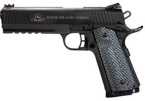 "Rock Island Armory 1911-A1 TAC 2011 40 S&W 5"" Barrel 8 Round Parkerized Semi Automatic Pistol 51710"