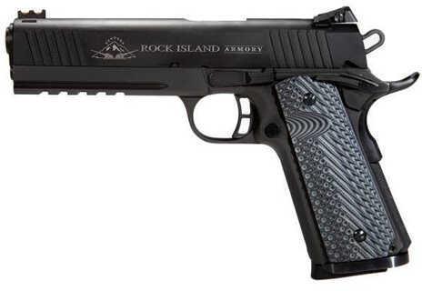"Rock Island Armory 1911-A1 TAC 2011 40 S&W 4"" Barrel 8 Round Parkerized Semi Automatic Pistol 51725"