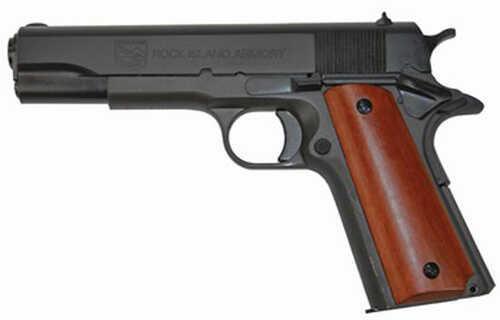 "Armscor Precision Inc Armscor Rock Island Armory M1911-A1 38 Super Automatic 5"" Barrel 9 Round Parkerized Semi Automatic Pistol 51815"