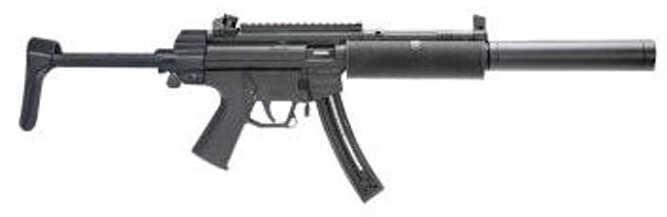 "American Tactical Imports GSG 522 SD 22 Long Rifle 16"" Barrel 22 Round Lightweight Retractable Stock Semi Automatic Rifle GERG522RLSD22"