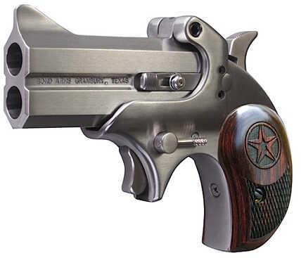 """Bond Arms Cowboy Defender 45 Colt 3"""" Barrel 2 Round Laminated Rosewood Grip Stainless Steel Frame Derringer Pistol CD45Colt"""