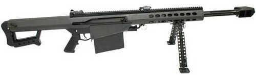 "Barrett Firearms Barrett Model 82 Close Quarters 50 BMG 20.6"" Barrel 10 Round Black Semi Automatic Rifle 13318"