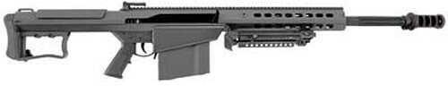 "Barrett Firearms Model 107A1 50 BMG 20"" Fluted Barrel 10 Round Leupold Mark 4 Scope BORS Black Semi Automatic Rifle 14017"