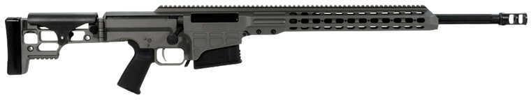 "Barrett Firearms Barrett MRAD Rifle 260 Remington 24""Fluted Barrel Tungsten Gray Bolt Action Rifle 14439"
