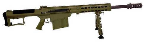 """Barrett Firearms Barrett Model 107A1 50 BMG 29"""" Barrel 10 Round OD Green Cerakote Semi Automatic Rifle 14555"""