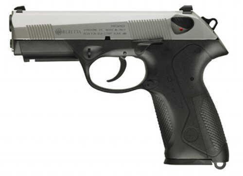 """Pistol Beretta USA S/D 9mm Luger 3.3"""" Barrel 15+1 Rounds Black Interchangeable Backstrap Grip Stainless Steel JXC9F50"""