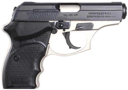 "Bersa Thunder Concealed Carry 380 ACP 3.2"" Barrel 8 Round Nickel/Black Semi Automatic Pistol     T380DTCC"