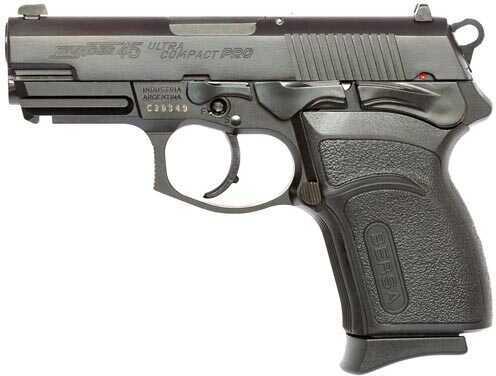 "Bersa Thunder Pro Ultra Compact 45 ACP 3.6"" Barrel 7 Round Black Finish Semi Automatic Pistol T45MP"