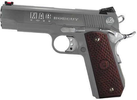 "American Classic MAC 1911 Bobcut 45 ACP 4.25"" Barrel 8 Round Hard Chrome Semi Automatic Pistol M19BC45C"