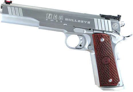 "American Classic MAC 1911 Bullseye 45 ACP 6"" Barrel 8 Round Hard Chrome Semi Automatic Pistol M19BE45C"