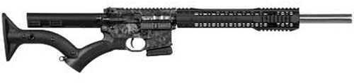 "Black Rain Ordnance Silver Skulls 223 Remington /5.56 Nato 16"" Barrel 10 Round Semi Automatic Rifle BRO-PG3-NY"