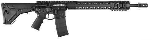 """Black Rain Ordnance 223 Remington /5.56 NATO 18"""" Barrel  30 Round  UBR  Black Silver Skull Anodize  Semi Automatic Rifle PG1118SKULL"""