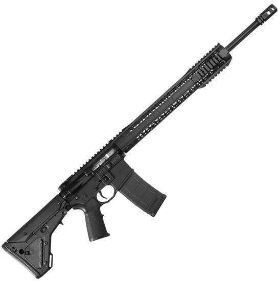 "Black Rain Ordnance AR-15 Semi Automatic Rifle 223 Rem/5.56mm NATO 20"" Barrel 30 Rounds Magpul Black Semi-Automatic Rifle    PG1120BLK"
