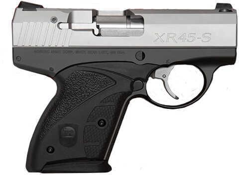 "Boberg Arms  XR45-S 45 ACP 3.75"" Barrel 6 Round Two Tone Semi Automatic Pistol  1X45SSTD1"