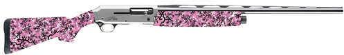 "Browning Silver Micro Midas 20 Gauge 24"" Barrel  3"" Chamber  4 Round  Buckthorn Pink  Semi Automatic Shotgun 011407606"