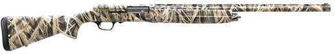 Browning A5 12 Gauge Shotgun  26 Inch Barrel   3.5 Inch Chamber   4 Rounds   Mossy Oak Shadow Grass Blades  Semi Automatic  0118182005