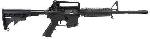 "Bushmaster Firearms Bushmaster Semi-Automatic Rifle XM-15 AR-15 Carbine  223 Remington /5.56 NATO  14.5"" Barrel  1.5"" Brake  10 Round   Black 90591"