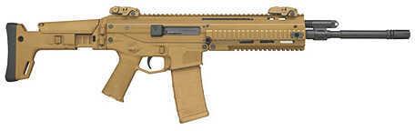 "Bushmaster Firearms Bushmaster ACR Enhanced 223 Remington /5.56 NATO  16.5"" Barrel  30 Round  Coyote Brown  Side Folding  Semi Automatic Rifle  90705"
