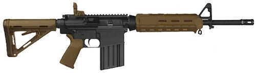 "Bushmaster Firearms Bushmaster MOE Mid-Length 308 Winchester  16"" Barrel 20 Round Magpul MOE Stock Flat Dark Earth Semi Automatic Rifle 90841"