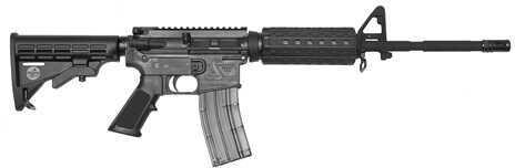 "Bushmaster Firearms Bushmaster C22 M4 22 Long Rifle 16"" Barrel 25 Round Black Semi Automatic Rifle 6 Position Stock 90978"