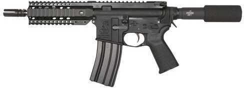 "Bushmaster Firearms Bushmaster Semi-Automatic Pistol XM-15 Enhanced Patrolman AR Pistol 223 Remington /5.56 NATO 7"" Barrel 30 Round Black 91020"