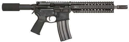 "Bushmaster Firearms Bushmaster Enhanced Patrolman's AR Pistol 223 Remington /5.56 NATO 10.5"" Barrel 30 Round Pistol Grip Black Semi Automatic Pistol 91022"