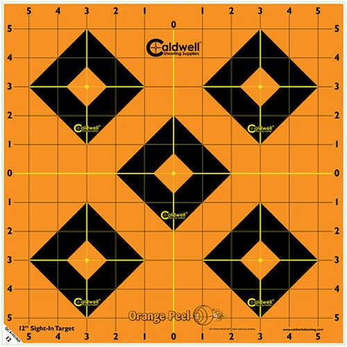 """Caldwell Orange Peel Targets Sight-In 16"""" 5 Pack 495253"""