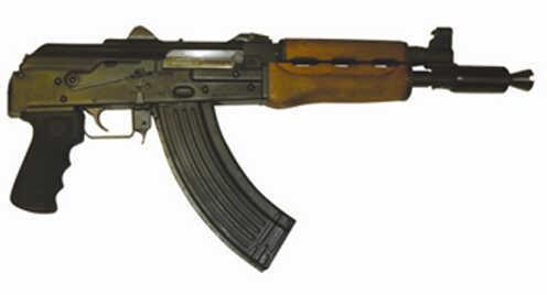 "Century Arms PAP M92 7.62x39 10"" Barrel 30 Round Krinkov Muzzle Brake Semi Automatic Pistol HG3089AN"