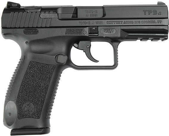 Pistol Century Arms Tp9v2 Canikon 9mm Luger Black 18 Round Hg3352n