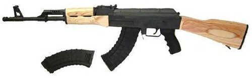 "Century Arms Centurion 39 7.62x39mm 16.5"" Barrel 2-30 Round Magazines Black / Blonde Wood Semi Automatic Rifle RI2170-N"