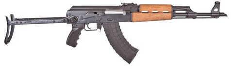 "Century Arms N-PAP DF 7.62x39 16.3"" Barrel 30 Round 2 Magazines Black Underfolding Semi Automatic Rifle RI2174-N"