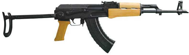 "Century Arms AK63D 7.62x39 16"" Barrel 30 Round Underfolding Black Semi Automatic Rifle RI2182X"