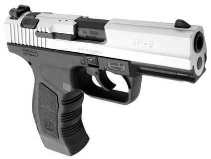 "Century Arms TP-9 9mm Luger 4"" Barrel 18 Round Chrome Semi Automatic Pistol HG2846CN"