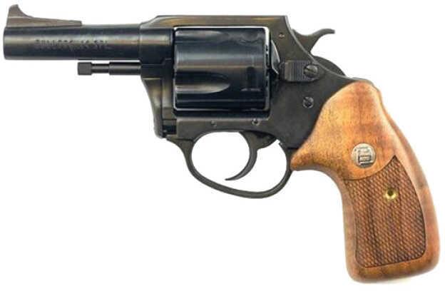 "Charter Arms Bulldog Revolver 44 Special 3"" Barrel 5 Round  Blued Black Wood Grip                                                         34431"