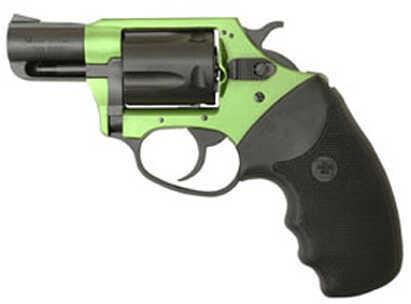 "Charter Arms Shamrock 38 Special 2"" Barrel 5 Round Aluminum Green/ Black Rubber Revolver 53844"