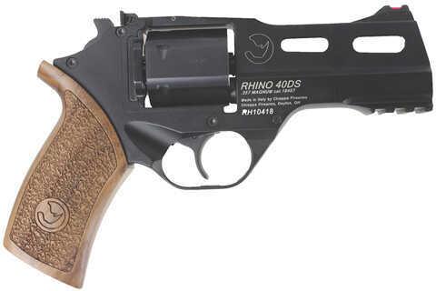 """Chiappa Rhino Revolver 40DS 357 Magnum 4"""" Barrel 6 Round Black Finish Revolver Pistol 340.071"""