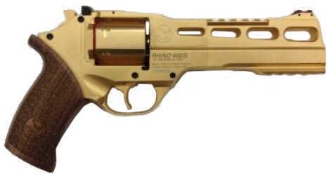 """Chiappa Gold Rhino 60DS 357 Magnum 6"""" Barrel Revolver Pistol 340.140"""