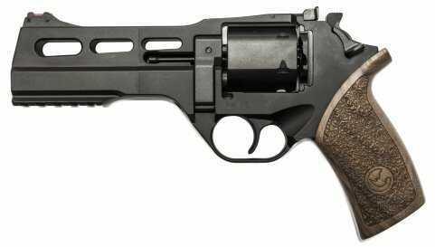 """Chiappa Firearms Rhino 50DS 40S&W DA/SA Actions Revolver 5"""" Barrel 6 Round Black Finish 340229"""