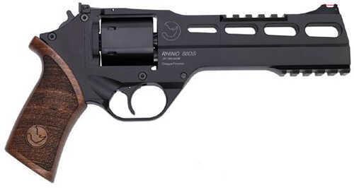 """Chiappa Rhino 40S&W 6"""" Barrel 6 Round Black Revolver 4060DS"""