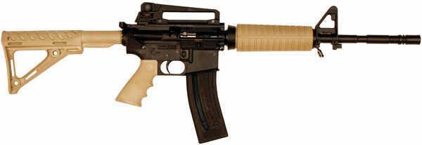 """Chiappa M4-22 Semi Automatic Rifle 22 Long Rifle 16"""" Barrel 28+1 Rounds Tan Finish 500077"""