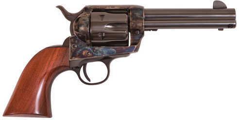 "Cimarron Eliminator C Frontier Revolver 4.75"" Barrel 357 Magnum / 38 Special 6 Round Walnut Grip Blued Finish Pistol"