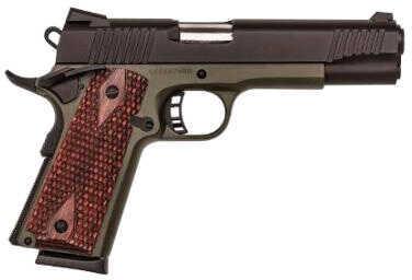 """Pistol Citadel LSI 1911 Full Size, 9mm Luger, 5"""" Barrel, OD Green Frame, Cerakote Black Hogue Slide 8 Rounds CITC9mm LugerFS200190H00"""