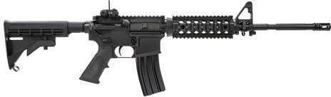 "Colt AR-15 SOCOM Carbine 223 Remington /5.56 NATO 16.1"" Barrel 30 Round Quad Rail Black Semi Automatic Rifle LE6920SOCOM"