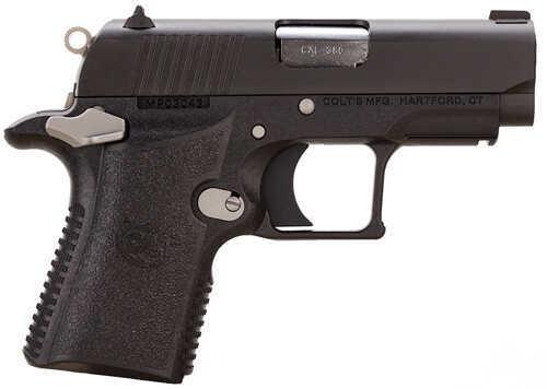"Colt Mustang XSP Compact 380 ACP 2.75"" Barrel 6 Round Ambidextrous Fixed Sights Semi Automatic Pistol    O6790"