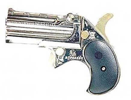 """Cobra Firearms Cobra Big Bore 38 Special 2.75"""" Barrel 2 Round Chrome Black CB38CB Pistol"""